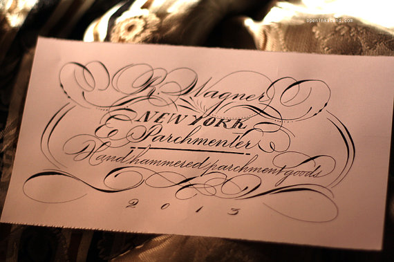 Calligraphy - vintage