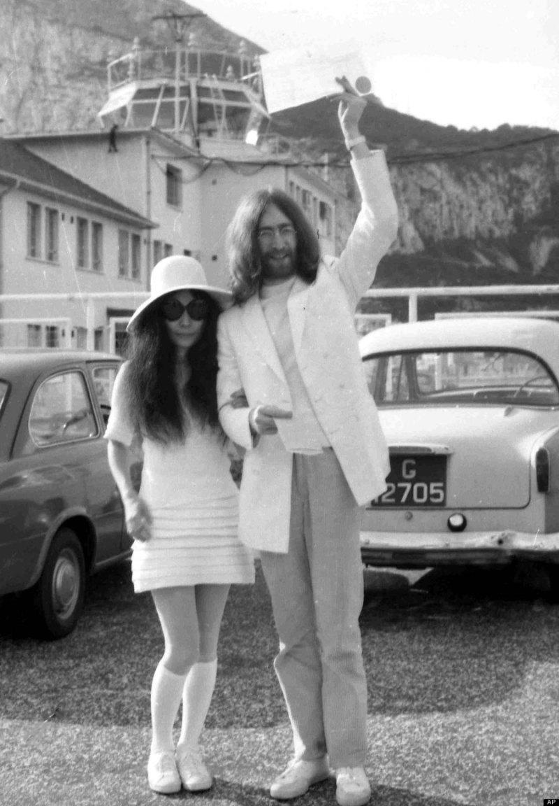 Gibraltar Lennon Ono