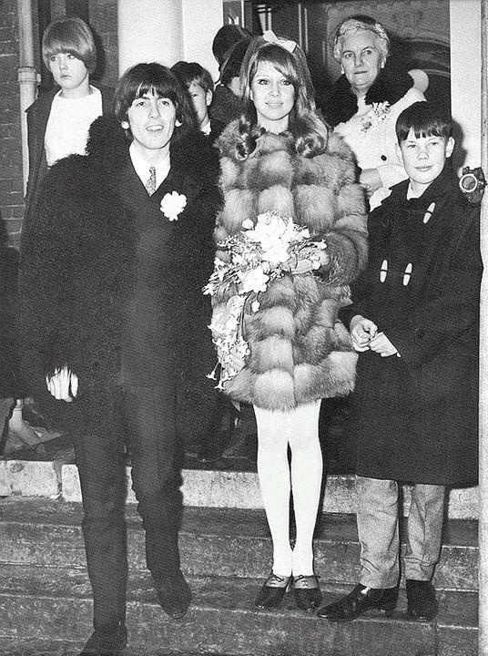 pattie-boyd-george-harrison-wedding