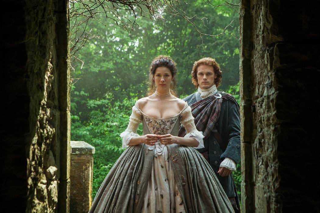 Claire and Jamie's wedding